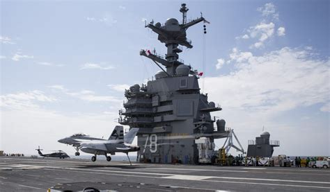 Watch: Spectacular Video of the Supercarrier USS Gerald R