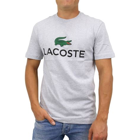 Lacoste T-Shirt Argent Chine - RUGA