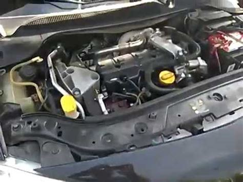 Renault Megane 2 dCi - fuite injection - YouTube