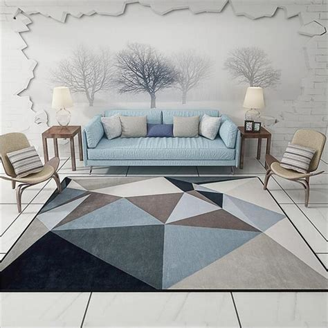 Hot Sale Modern Simple Style Orignal Design Large Carpets
