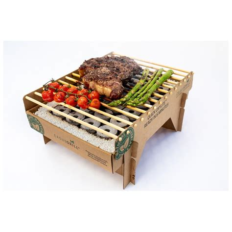 CASUS GRILL - disposable ecological grill