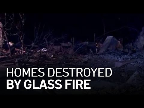 Before and After Photos: Fires Tear Through California's