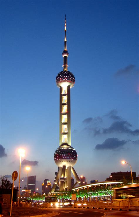 Pearl Tower, Pudong, Shanghai - Ticket Privatresor AB