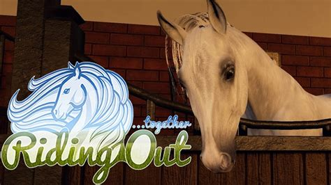 RIDING OUT || The BEST horse game EVER?! MAYBE! (early