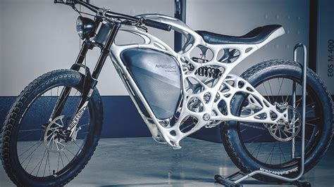 The Light Rider is a 3D Printed Motorcycle Designed by
