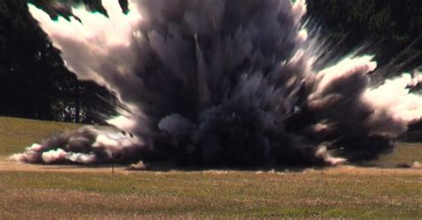 Watch Dunc's car get blown up with 55kg worth of explosives