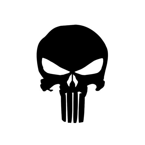 Punisher Skull - Vinyl Decal/Sticker