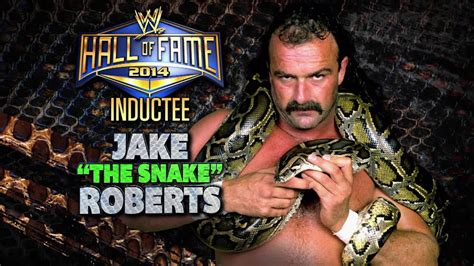 "2014 WWE Hall of Fame Inductee: Jake ""The Snake"" Roberts"