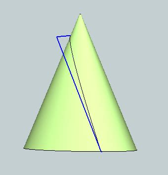 David's Blog: Parabola by Conical Section