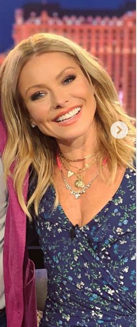 Who made Kelly Ripa's blue floral dress? – OutfitID