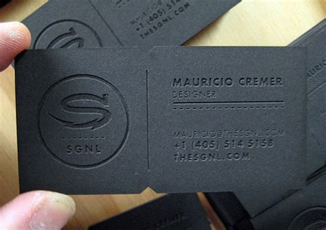 A Collection Of High Quality Black Business Cards Ideas To