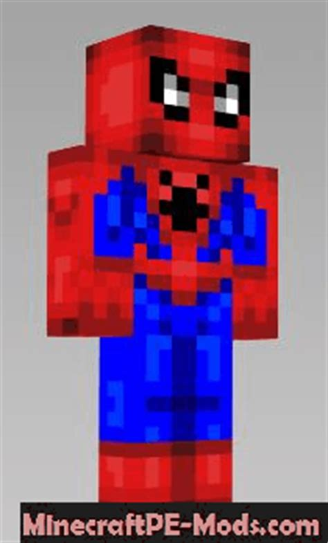 Superheroes Skins Pack For Minecraft PE 1