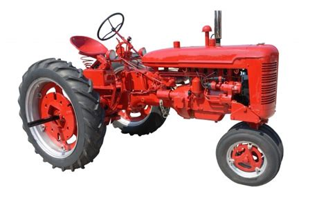 Vintage Red Tractor Free Stock Photo - Public Domain Pictures