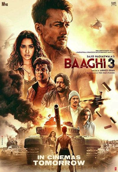 Baaghi 3 (2020) Watch Full Movie Free Online - HindiMovies