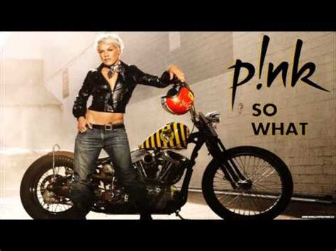 Pink - So What - YouTube