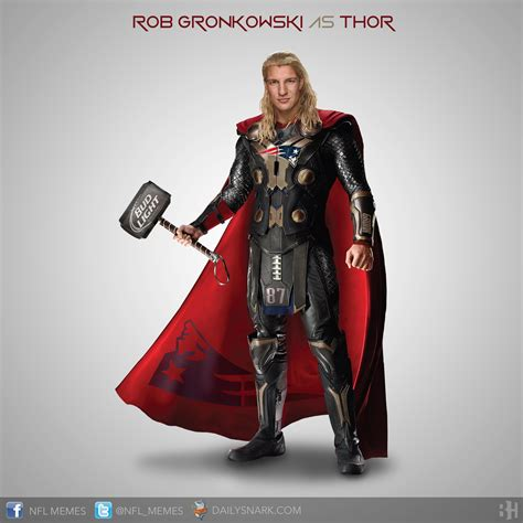 NFL Stars as Super Heroes - Daily Snark