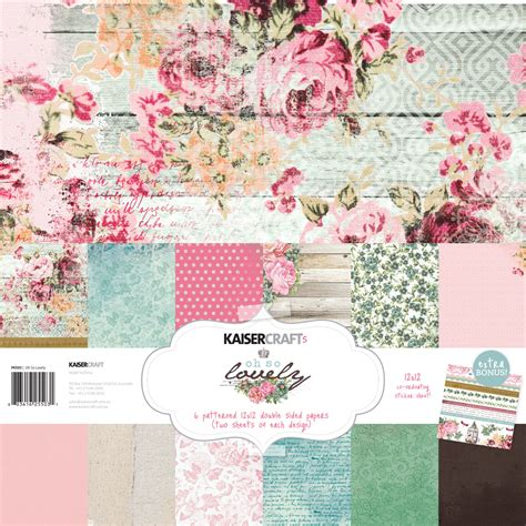 Kaisercraft Oh So Lovely, Chase Rainbows & more