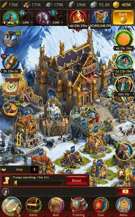 Marches - Vikings: War of Clans mobile game guide