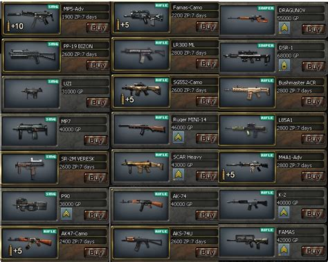 Crossfire weapons !!   Pro Crossfire Only