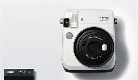 instax mini 70 by fujifilm adds color to their instant