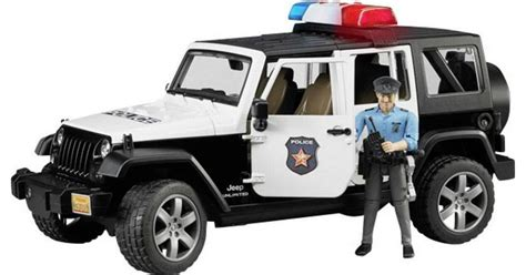 Bruder Jeep Wrangler Unlimited Rubicon Police Vehicle with