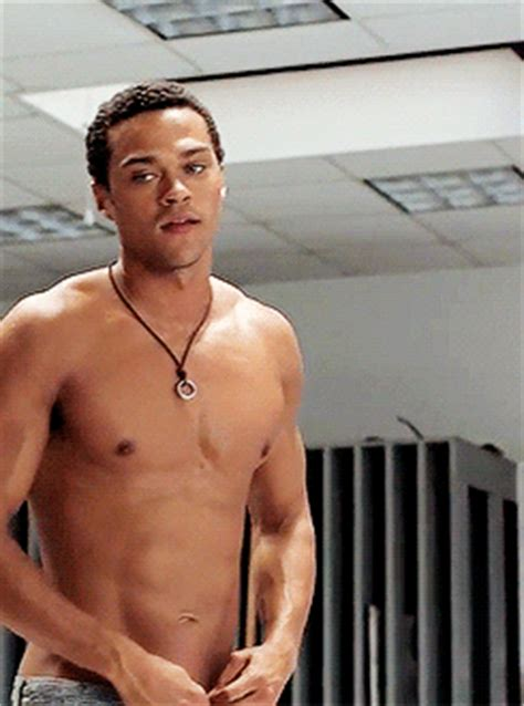 Shirtless jesse williams yes GIF - Find on GIFER