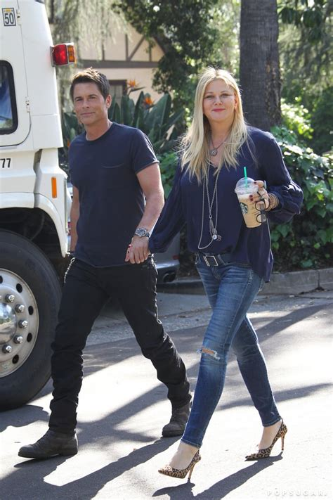 Rob Lowe and wife Sheryl Berkoff looked like the image of