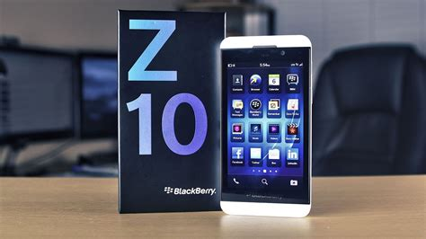 White BlackBerry Z10 Unboxing & Overview - YouTube