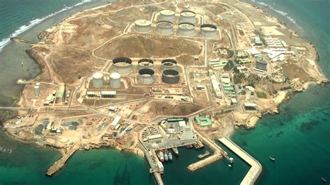 Detailed design of crude oil import and export facilities