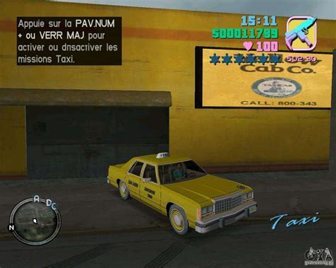 Ford Crown Victoria LTD 1985 Taxi for GTA Vice City