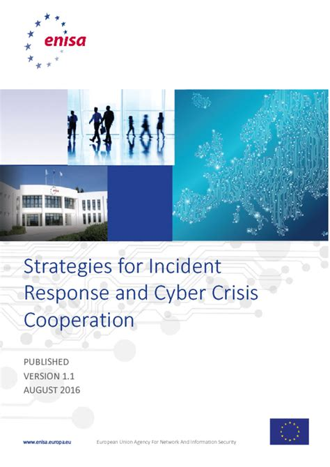 Strategies for incident response and cyber crisis