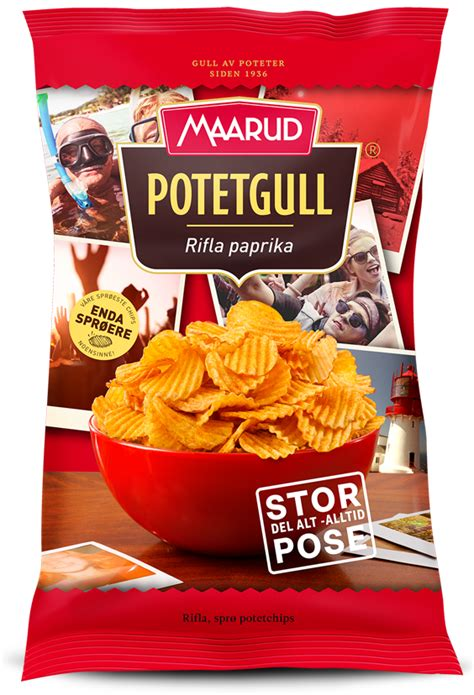Potato Chips and Crisps from Maarud - Chips & Crisps