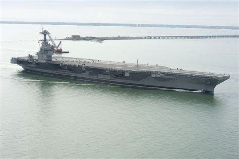 The Navy's Ford-Class Carrier Will Make America's Navy