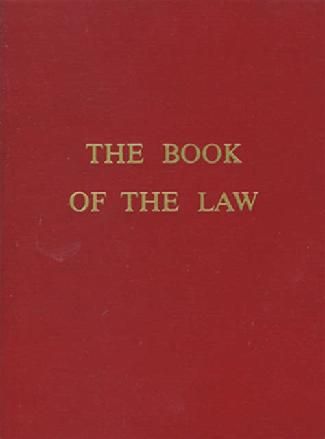 Red Wheel ∕ Weiser Online Bookstore | The Book of the Law