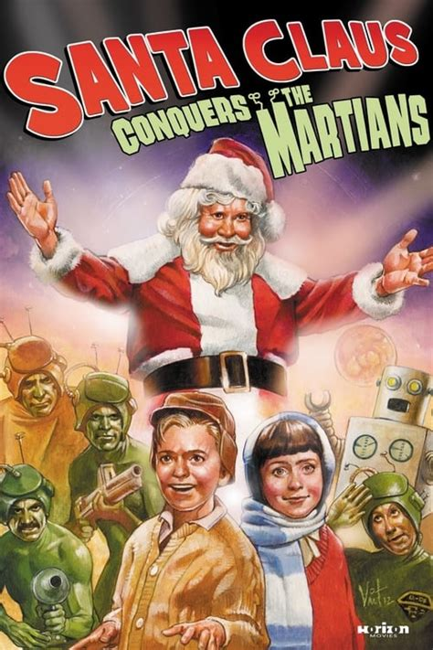 Santa Claus Conquers the Martians (1964) - Posters — The