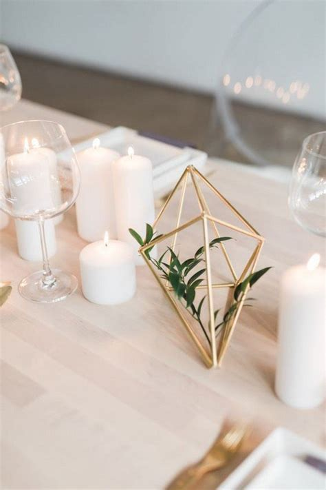 40+ Chic Geometric Wedding Ideas for 2018 Trends - Page 2