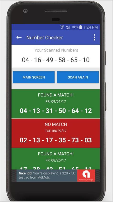Lottery Ticket Scanner - Ohio Checker Results for Android