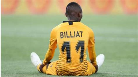 It makes no sense to criticise Billiat right now - Kaizer