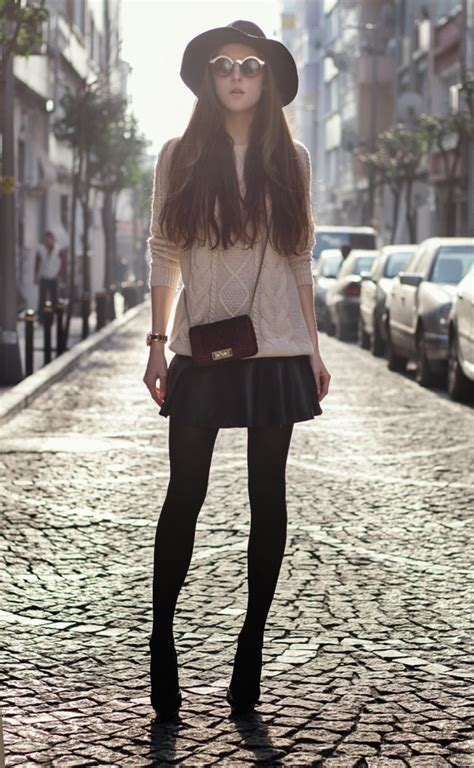 Great Winter Outfit Ideas With Skirts - fashionsy