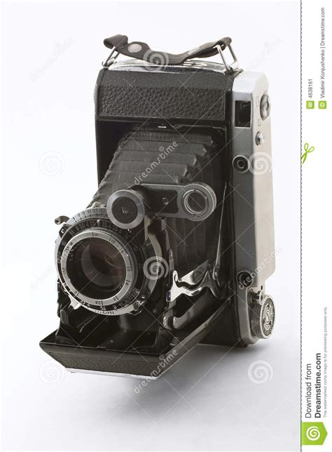 The ancient camera stock image
