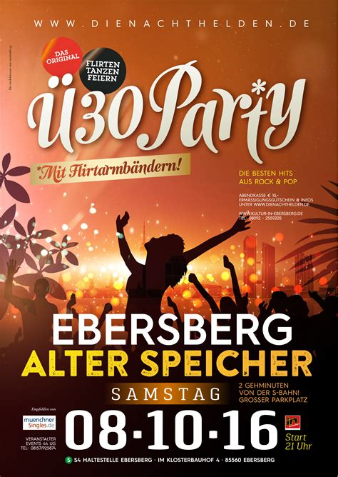Ü30-Party - Kultur in Ebersberg
