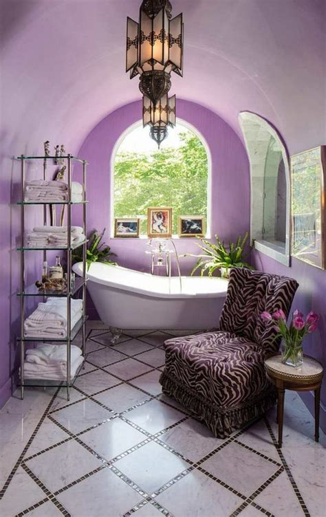 Purple Bathrooms That Will Make You Add This Royal Color