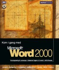 DataPower Learning Nettbutikk : Produkt : Word 2000
