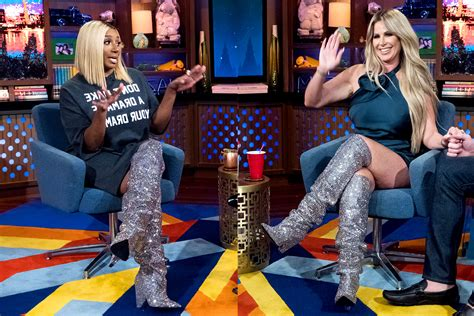 Kim Zolciak-Biermann NeNe Leakes Wore Same Boots on WWHL
