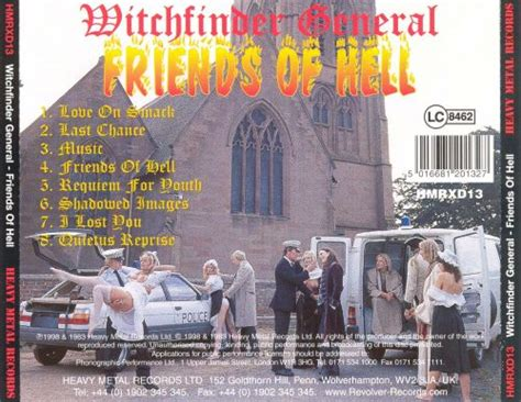 Friends of Hell - Witchfinder General | Songs, Reviews