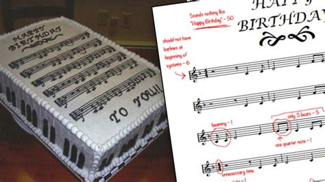 A music theory geek totally tore apart this Happy Birthday