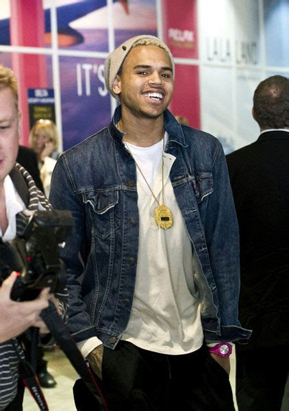 Chris Brown Touches Down at LAX | Rap-Up