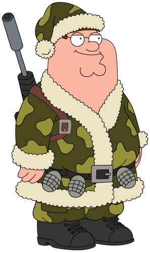 Christmas Camo Peter | Family Guy: The Quest for Stuff