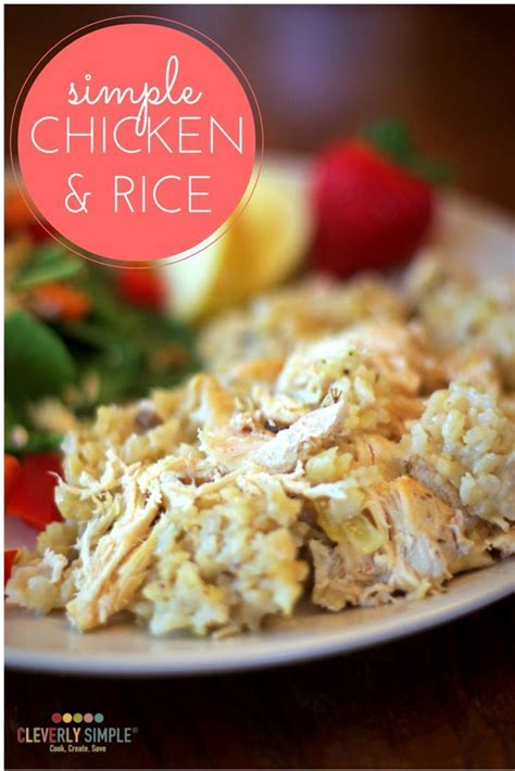 Easy Chicken and Rice | Recipe | Easy rice recipes, Easy