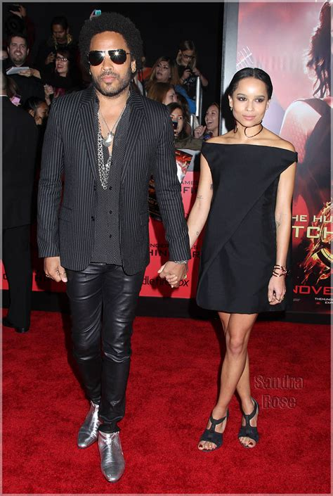 Celebs Out & About: Lenny and Zoe Kravitz, Kanye West